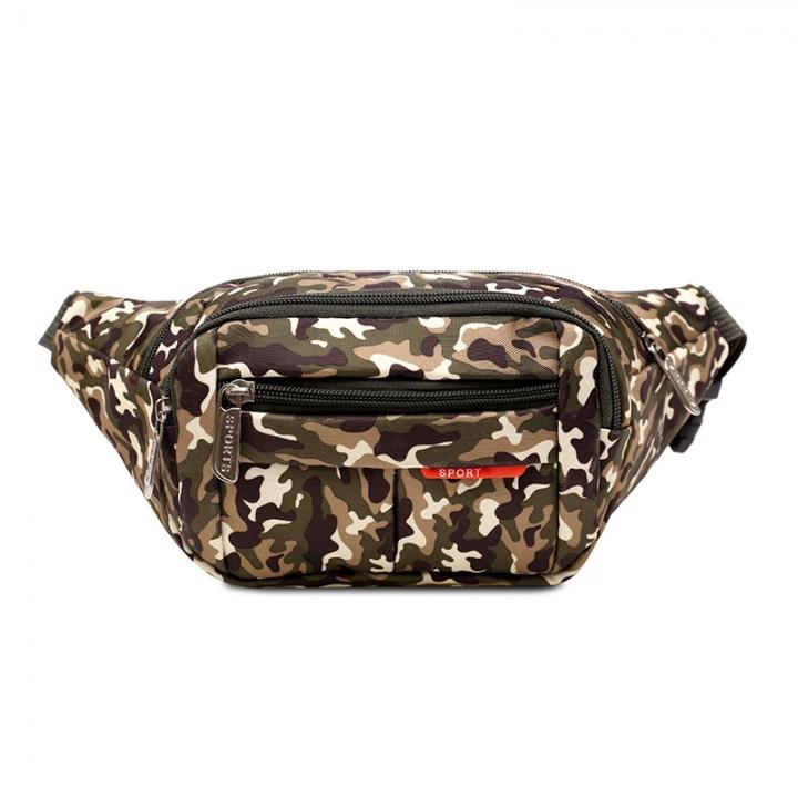 Men Chest Pack Leisure Travel Sling Bag Brand Oxford Shoulder Chest Crossbody Sling Bag 01 11*23*6CM