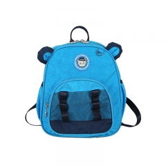 Children Backpacks Brand Design Girl Boys Backpack Toddler Kids School Bags Kindergarten Cartoon Bag blue