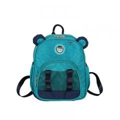 Children Backpacks Brand Design Girl Boys Backpack Toddler Kids School Bags Kindergarten Cartoon Bag green