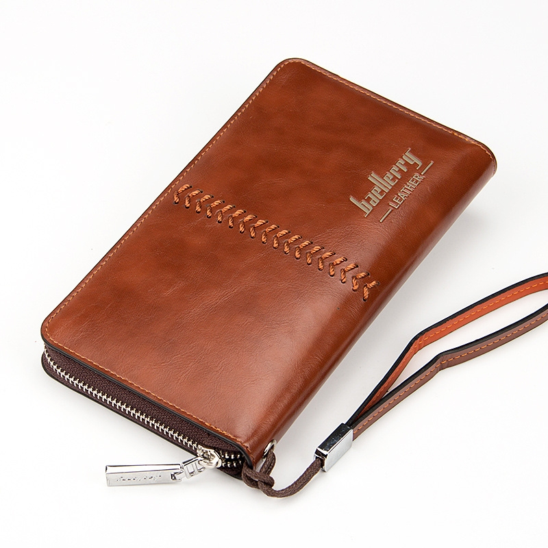 5d87351fe702 Kilimall: Card holder Leather Wallet men Long Fashion Casual Mens ...