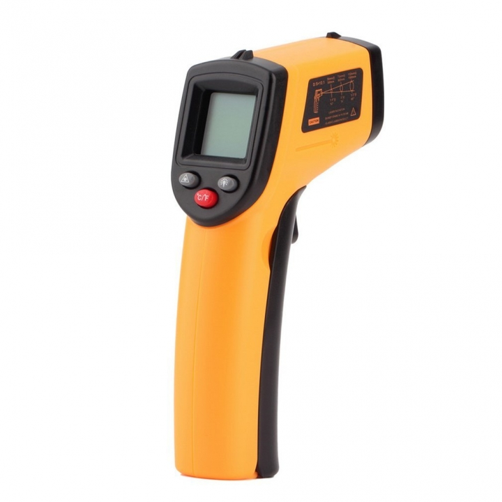 Non Contact LCD Digital Laser IR Infrared Thermometer Temperature Gun Range Measurement  -50-360°C one one