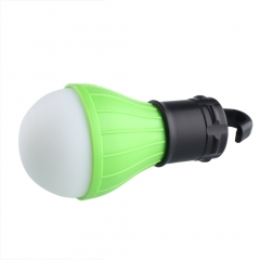 3 LED Ultra Bright Outdoor Handle Camping Lamp Tent Light Bulb With Lamp Hook green one