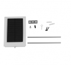 15W LED Solar Power Thin Waterproof Garden Wall Outdoor Street bright Light Lamp white one  size