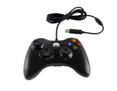 Wired USB Game Controller Gamepad Game Joystick Joypad for Microsoft Xbox 360 & Windows PC black