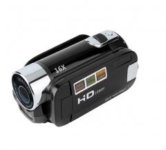 2.7 Inch TFT LCD HD 720P Digital Video Camera Camcorder 16x Zoom DV Camera black one size
