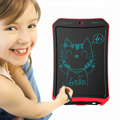 Transformer design lcd writing board writing tablet ewriter for children red