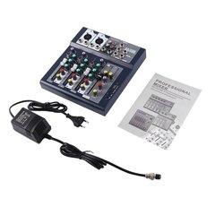 EU Plug 230V Live Mixing Studio Audio Sound Console Network Anchor purple one one