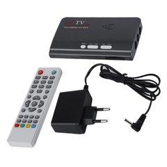 DVB-T2 DVB-T AV to VGA TV cassette with HDMI VGA USB support MPEG4