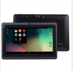 7 inch High resolution capacitive screen +Android 4.4 +ARM corte A9 Family Quad-core processor black super fast