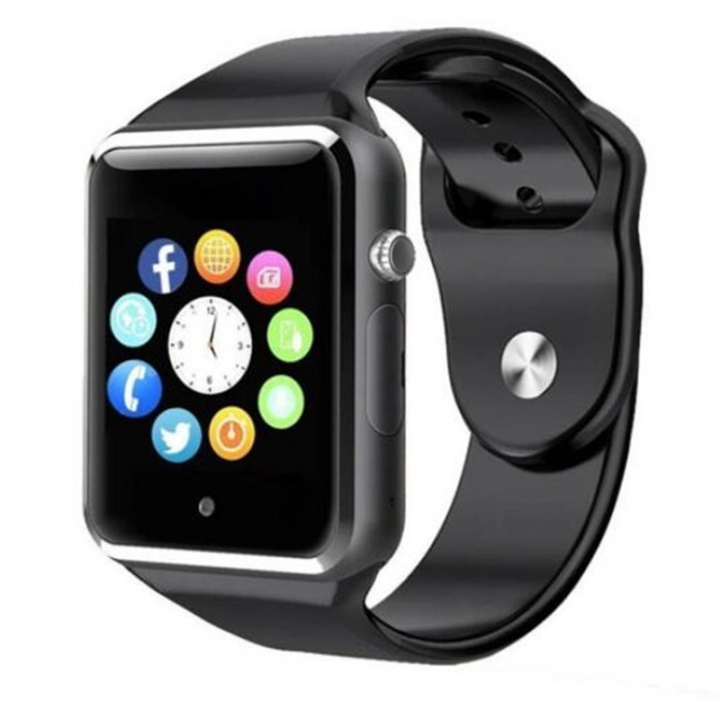 Bluetooth Smart Watch A1 Touch Screen Smart Wrist Watch with SIM Card Slot Camera Sport Tracker Black 1 PCS