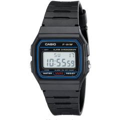 Digital Sport Watch Classic Resin LED Gift Men Wristwatch Quartz movement with Waterproof Watchs black 33mm