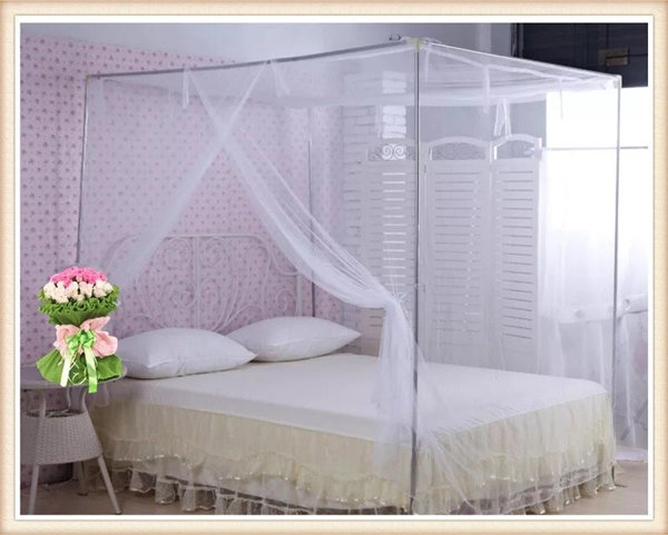 Mosquito Net Encryption Bed Net Mosquito Curtain for Africa Malaria Control white 6*6