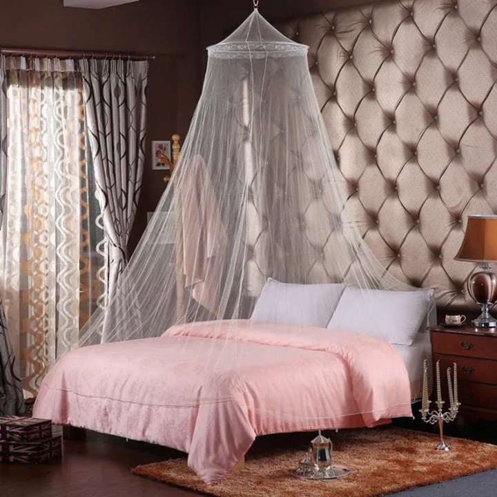 Hung Dome Mosquito Nets 5 Protect You From Biting by Mosquitoes and Insects pink 1.2-1.8 Meter
