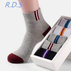 5 Pair Short Socks Men Ankle Socks Skatebord Ankle Absorb Sweat Socks Sports Socks picture 5 pair mix