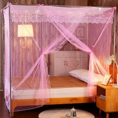 Bed Net Canopy Mosquito Net Twin Queen Cal King Size No Frame/Post