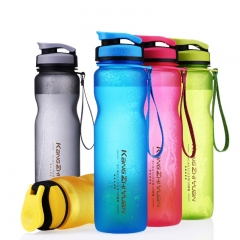 1L/600ML Water Bottles For Tea Infuser tumbler Portable Space Bike Cycling Cup Black 600ml