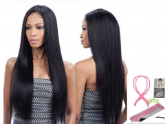 Long Hair Wigs For Women Synthetic Wigs For Women Heat Resistant False Hair Pieces Women Hairstyles Black 25.5 in