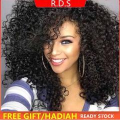 Africa Wig Black Women's Wigs Hair Rose Net Set High Temperature Fiber Short Curly Hair black short