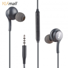 HOT 3.5mm In-Ear Earphone Headset Earbuds W/ Mic For Samsung Other 3.5mm phone black