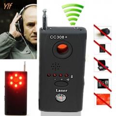 Anti Spy Detector Hidden GSM Camera Audio Bug Finder GPS Signal Lens RF Tracker black one size
