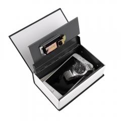 Safe Box Dictionary Secret Book Money Hidden Secret Security Safe Lock  Password Locker black