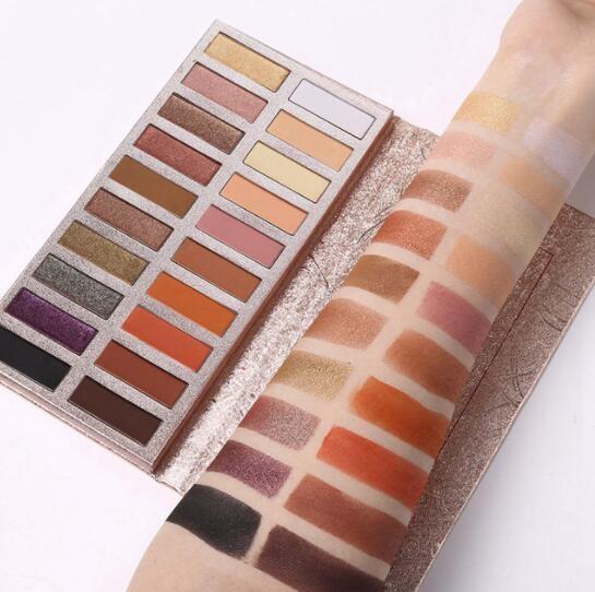 UCANBE Brand Shimmer Matte  Makeup Palette Long Lasting Waterproof Nude Eye Shadow Cosmetic Kit Cosmos Palette02