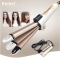 3 in 1 Foldable Hair Curler Curling Iron + Hair Straightener Flat Iron + Corn Plate Hair Curler gold normal