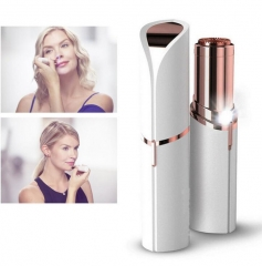 Electric Painless Lipstick  Epilator Shaver Lady Hair Remover Mini Hair Removal For Women Body Face White normal