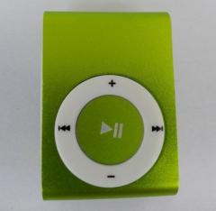 Mirror Portable MP3 player Mini Clip MP3 Player Sport Mp3 Music Player Walkman Lettore Mp3 Green