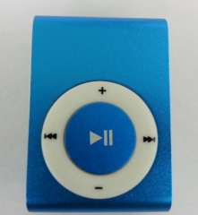 Mirror Portable MP3 player Mini Clip MP3 Player Sport Mp3 Music Player Walkman Lettore Mp3 Blue