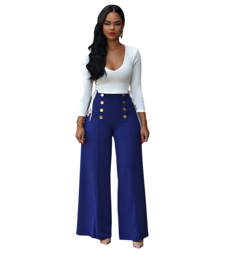 454d918f409 ... Casual Long Sleeve Top And Wide Leg Pant Suits Autumn Winter Club 2  Piece Set Women blue s  Product No  1871733. Item specifics  Brand