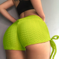 Women Casual Girl Sports Shorts Gym Fitness Short Pants Workout Beach Wear Hot Pants green s