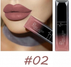 3PCs/9PCs Waterproof Nude Matte Velvet Glossy Lip Gloss Lipstick Sexy Red Lip Tint  Makeup Gift 2#