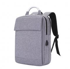 New Men Backpack USB charging  Laptop Backpacks For Teenager Male Mochila Leisure Travel backpack gray 41*30*11cm