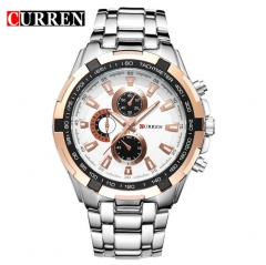 CURREN Watches Men Quartz Top Brand Analog Military Watches Men Sports Waterproof Business Watches style 5 normal