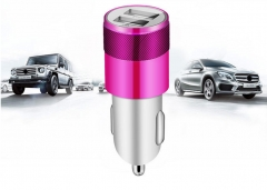2 USB Output Car Charger 2.1A Fast Charge For Huawei  Infinix Mobile Phones