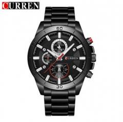 CURREN Men Watches Top Brand Luxury Men Military Wristwatches Full Steel Men Sports Watch Waterproof style 3 normal