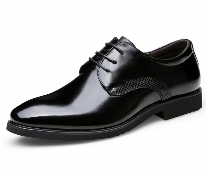 M J High Quality Men S Genuine Leather Shoes Office Shoes Wedding