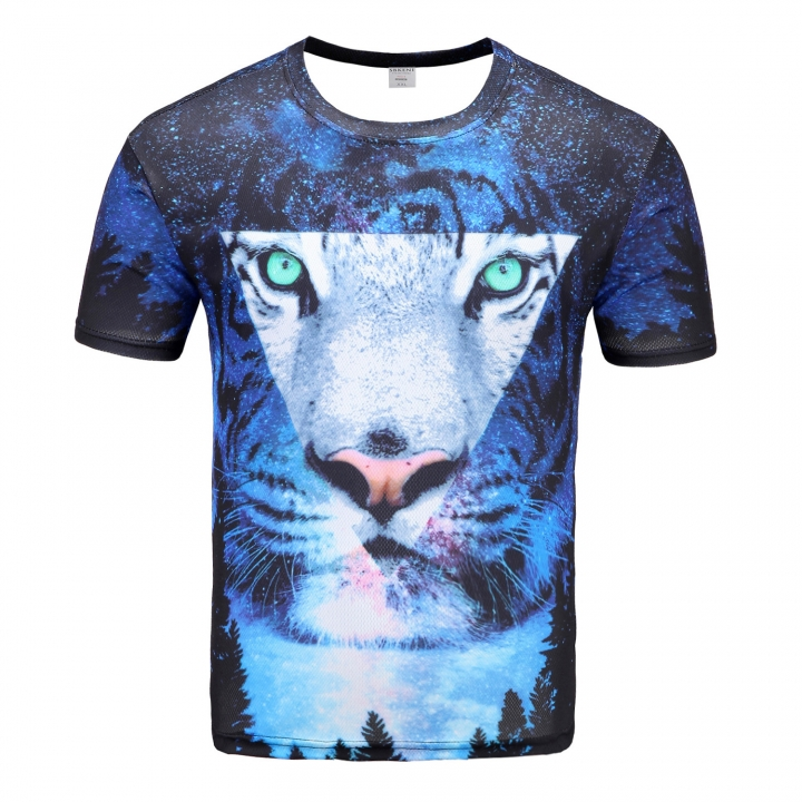 15e1ae7b11d6 Water Drop Mobile 3D Print Short Sleeves Men T-shirts Summer Men T Shirt  Tops