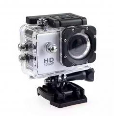 M&J Cameras Outdoor Sports Camera 30M Waterproof Multifunction Mini DV Digital Camera  Photography white one size