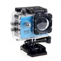 M&J Cameras Outdoor Sports Camera 30M Waterproof Multifunction Mini DV Digital Camera  Photography blue one size