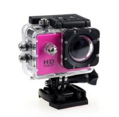 M&J Cameras Outdoor Sports Camera 30M Waterproof Multifunction Mini DV Digital Camera  Photography rosy one size