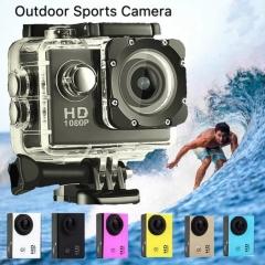 M&J Cameras Outdoor Sports Camera 30M Waterproof Multifunction Mini DV Digital Camera  Photography black one size