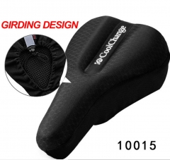 Cycling Seat Cushion Cover Thick Sponge Mountain Bike Road Bike Saddle Seats Soft Bike Pad 10015black