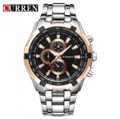 CURREN Watches Men Quartz Top Brand Analog Military Watches Men Sports Waterproof Business Watches style 6 normal
