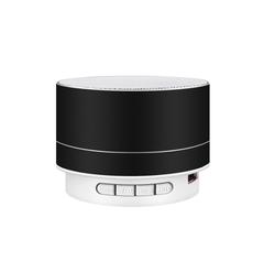 M&J Wireless Bluetooth Speaker Metal Mini Portable Subwoof Sound With Mic TF Card FM Radio black 3w A10