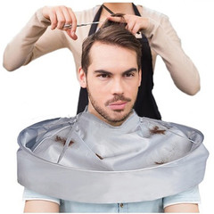 Foldable Hair Cutting Cloak Umbrella Cape Salon Waterproof Barber Salon Barber Special Hair Styling as picture Diameter Size: 60cm/23.62