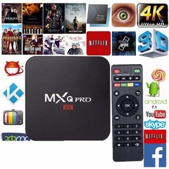 MXQ PRO 4K TV Box Amlogic S905W 1GB + 8GB Android 7.1 Smart TVBOX Media Player