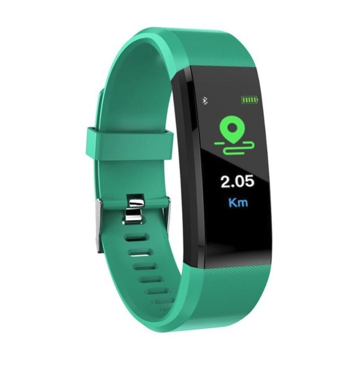 Smart Band Fitness Tracker Heart Rate Tracker Sports Record Blood Pressure Testing Smart Bracelet cyan 245x20x12.8mm