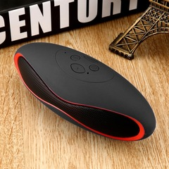 Mini Bluetooth Speaker Portable Wireless Speaker Sound System 3D Stereo Music Surround TF USB black 3w glq